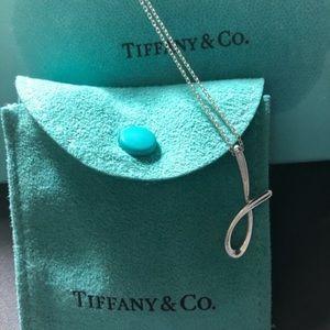 """Tiffany & Co Elsa Peretti """"J"""" pendant"""